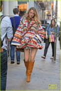 Blake Lively - Shopping in NYC 10/17/14