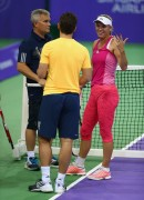 Caroline Wozniacki practices BNP Paribas WTA Finals in Singapore on October (18,19)-2014 x8
