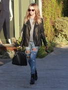 Ashley Tisdale - Leaving Andy LeCompte Salon in West Hollywood 10/21/14