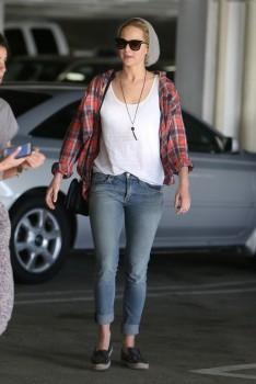Jennifer Lawrence out in LA 10/22/14 9