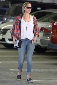 Jennifer Lawrence out in LA 10/22/14 7