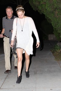 Jennifer Lawrence Out in LA, 10/27/14 12