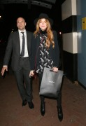 Lindsay Lohan leaving the Playhouse Theatre in London's West October 25-2014 x22