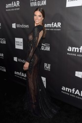 Alessandra Ambrosio - 2014 amfAR LA Inspiration Gala in Hollywood 10/29/14