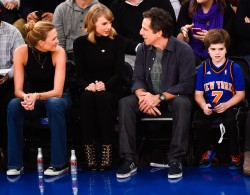 Taylor Swift and Karlie Kloss | Madison Square Garden: Bulls vs. Knicks 10/29/14