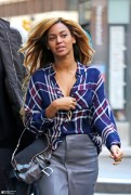 Beyonce - Out & About in NYC 10/30/14