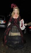 Natalie Dormer Jonathan Ross Halloween Party in London October 30-2014 x2