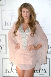 Amy Willerton Reveals her AW14 Collection for KEY Fashions in Soho, London 04/11/2014 13