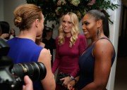 Caroline Wozniacki with Serena the 11th Annual CFDA / Vogue Fashion Fund Award November 3-2014 x13