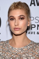 Hailey Baldwin - Topman Flagship Opening Dinner in NYC 11/4/14