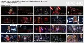 Ariana Grande (and Little Big Town) - 48th Annual CMA Awards 11/5/14 720p