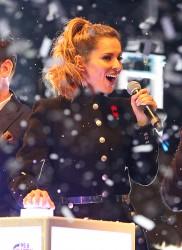 Cheryl Fernandez-Versini Cole Switches on the Oxford Street Christmas Lights in London 06/11/2014 49
