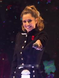 Cheryl Fernandez-Versini Cole Switches on the Oxford Street Christmas Lights in London 06/11/2014 6