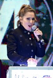 Cheryl Fernandez-Versini Cole Switches on the Oxford Street Christmas Lights in London 06/11/2014 16