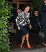 Jessica Alba Leaving Ago Restaurant in West Hollywood November 7-2014 x15
