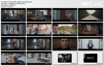 Taylor Swift | Blank Space (Official) | 720p/1080p