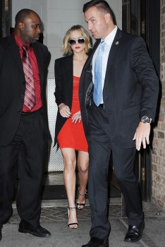 Jennifer Lawrence Going to and at the 'Late Show with David Letterman' in NYC 11/12/14 3