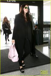 Jessica Biel - LAX Airport 11/12/14