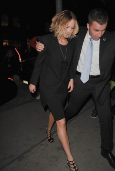 Jennifer Lawrence Going to Dinner in NYC 11/12/14 7