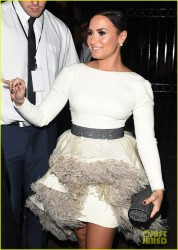Demi Lovato - Leaving The 2014 Royal Variety Performance in London 11/13/14