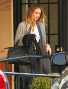 Jessica Alba Spotted out in Santa Monica November 15-2014  x18