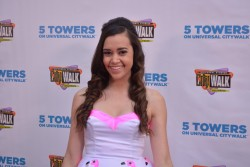 "Megan Nicole performing at the Universal CityWalk's ""Music Spotlight Series"" 7/17/14"