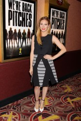 Britanny Snow Pitch Perfect Sing Along Screening in NY 11/19/14 12