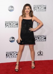 Lucy Hale - 2014 American Music Awards in LA 11/23/14