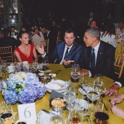 Jolene Blalock - Meeting President Obama 2013 instagram pic