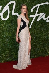 Cara Delevingne - 2014 British Fashion Awards in London 12/1/14