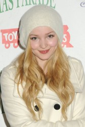 Dove Cameron at the 2014 Hollywood Christmas Parade x15