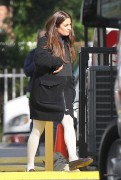 Lea Michele - On Glee Set - 12/04/2014