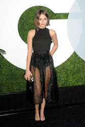 Willa Holland - see through skirt - great legs - 12/5/14