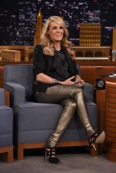 Carrie Underwood - On the 'Tonight Show Starring Jimmy Fallon' in NYC 12/8/14