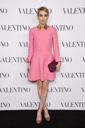Emma Roberts - Valentino Sala Bianca 945 Event in NYC 12/10/14