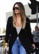 Khloe Kardashian - At Burbank Airport 12/11/14