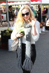 Dove Cameron at Farmer's market in Los Angeles - December 2014 x15