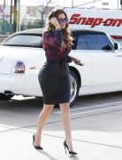 Khloe Kardashian - Filming 'Keeping Up With the Kardashians' in Calabasas 12/15/14