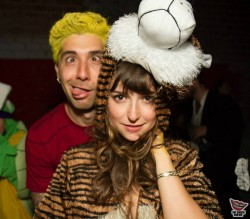 Milana Vayntrub at a Halloween Party - October/November 2013