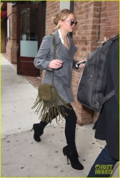 Jennifer Lawrence - Going to a meeting in NYC 12/16/14