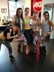 Emmy Rossum at a Gym - 12/16/14