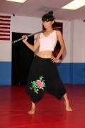 Bai Ling - Martial Arts Training in LA - December 16-2014 x34
