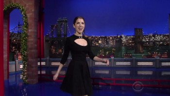 ANNA KENDRICK - Late Show 12.16.14