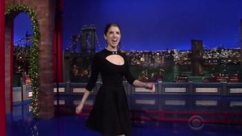 ANNA KENDRICK - Late Show 12.16.14