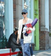 Charlize Theron Leaves a Yoga class after a workout December 20-2014 x9