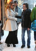 Mariah Carey - Shopping in Aspen 12/23/14