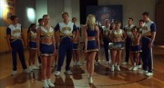Anne Judson-Yager in 'Bring It On Again': cheerleader outfit, stripping to skimpy blue bra & panties, slinky hips and pissed off! (WEB-DL 720p)