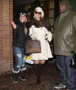 Mariah Carey - Shopping in Aspen 12/28/14