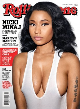 Nicki Minaj. Rolling Stone cover, Jan 2015.