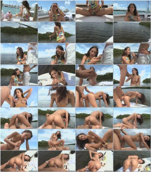 Amia Miley Fishing For Cock